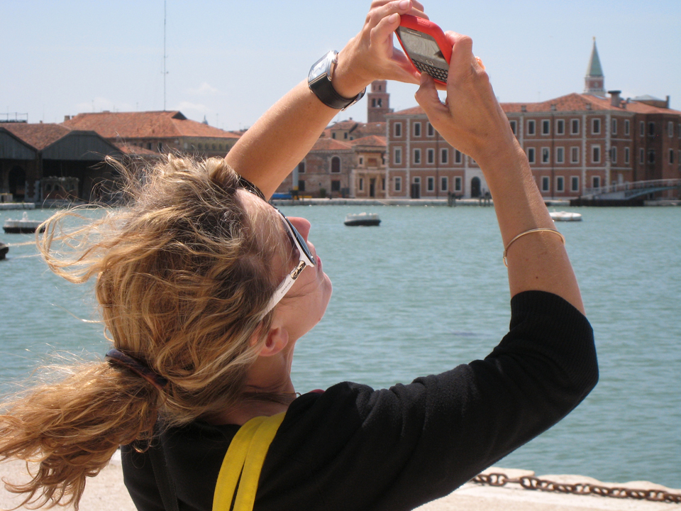 woman at arsenale